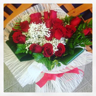 21 rose rosse acquistate online con consegna a Padova