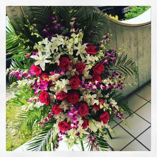 Composizione di fiori per funerale Padova