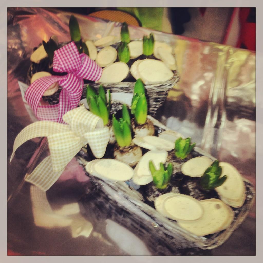 Idee per abbellire la casa con centritavola di fiori - Giacinti in casa ...