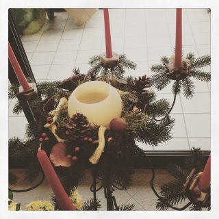 candelabro natalizio