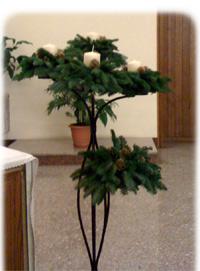 Per l'argomento natalizio di oggi ci occuperemo di Corone d'Avvento