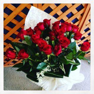 25 rose rosse online Padova
