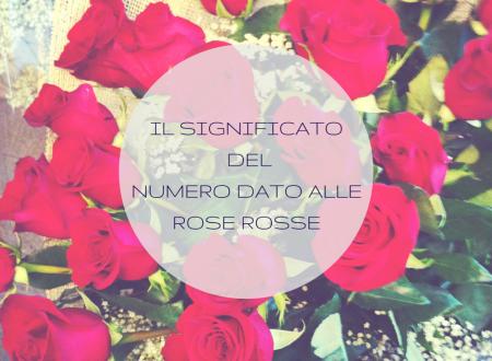 Il significato del numero dato alle rose rosse