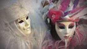 fiori e maschere