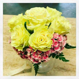 bouquet fiori per nozze oro anniversario nozze oro