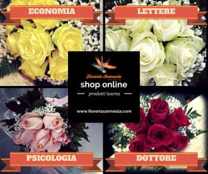 fiori laurea a Padova