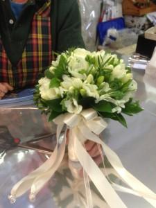 bouquet sposa aromatico