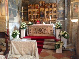Matrimonio al battistero del duomo Padova