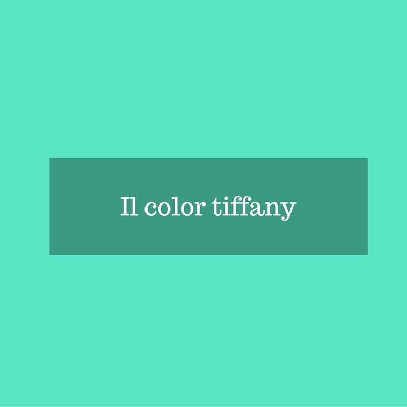 Verde tiffany colore