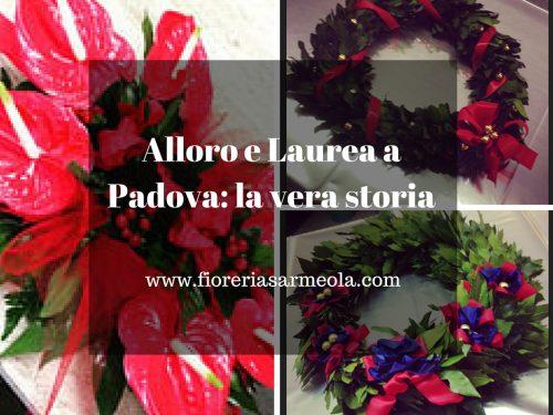 Corona di Alloro e Laurea a Padova