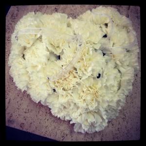 cuscino portafedi di fiori