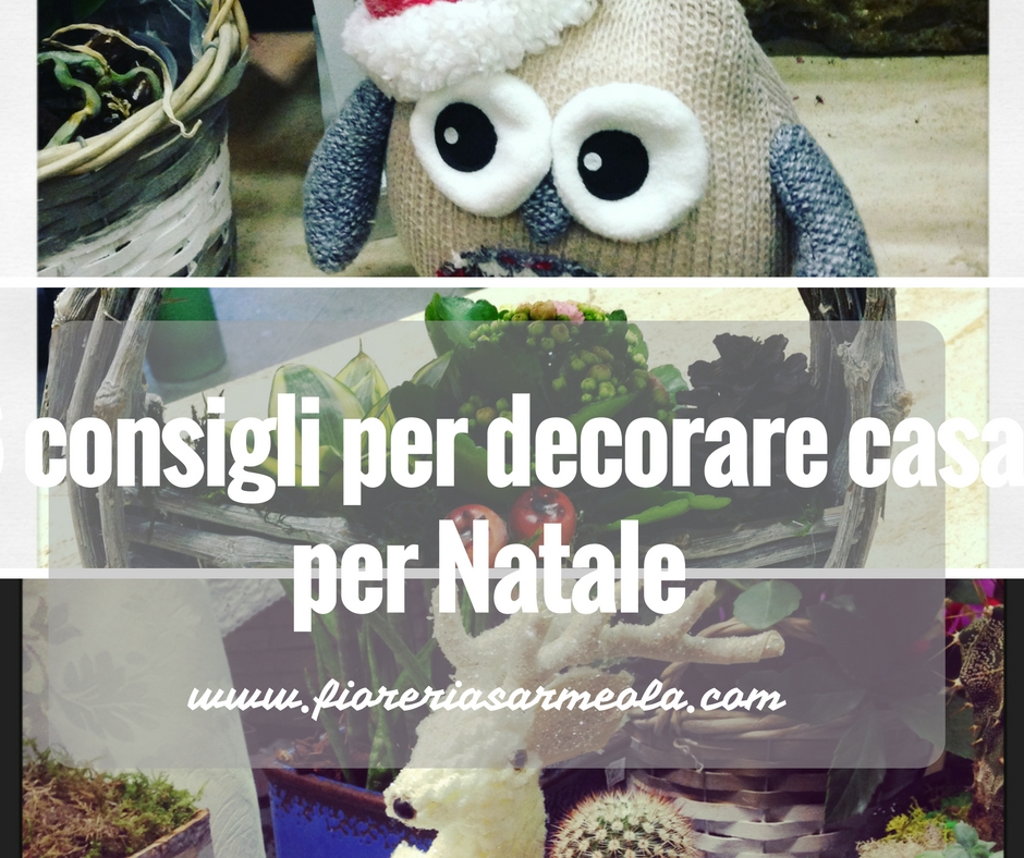 6 consigli per decorare casa per natale for Decorare stanza natale