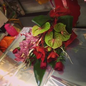 mazzo di fiori Natale