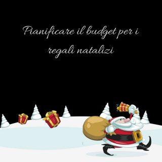 Pianificare budget per i regali per Natale