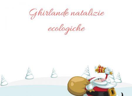 Ghirlande natalizie ecologiche e naturali