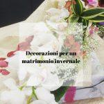 Decorazioni per un matrimonio invernale
