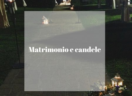 15 idee di matrimonio con candele
