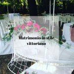 Matrimonio in stile vittoriano