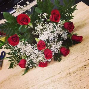 10 rose rosse