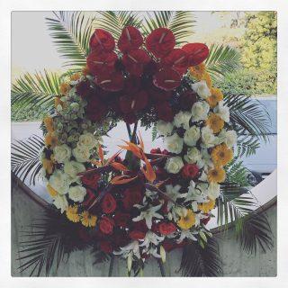 Corona funebre funerale a Padova