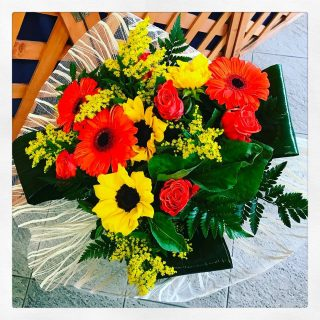 Bouquet regalo per una collega di lavoro