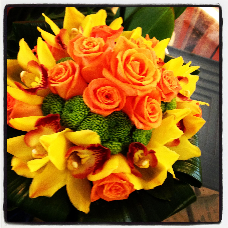Girasoli Matrimonio Ottobre : Bouquet di fiori autunnali