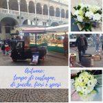 Autunno: tempo di castagne, di zucche, fiori e sposi
