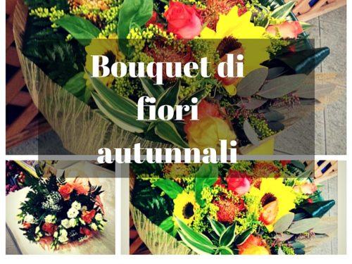 Bouquet di fiori autunnali