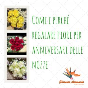 Perché regalare fiori all'anniversario di nozze