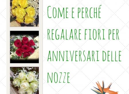 Come e perché regalare fiori per anniversari di nozze