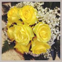 fiori per nozze d'oro