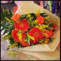 Il bouquet orange lo trovi nel nostro shop