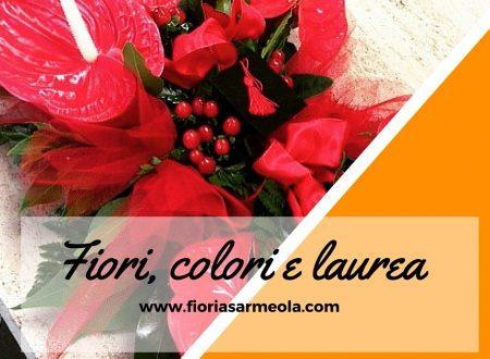 3 idee di fiori e colori per laurea