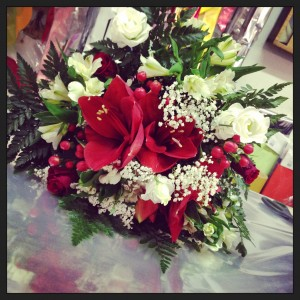 bouquet Natale per decorare le vostre tavole