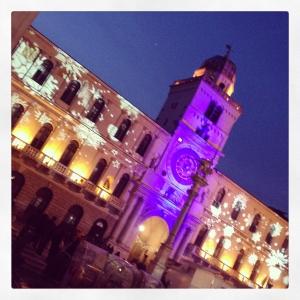 Piazza dei Signori - Natale a Padova