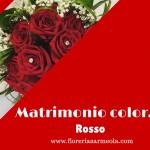 Matrimonio color…rosso