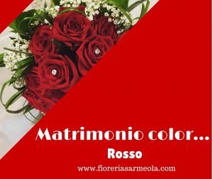 Matrimonio color...rosso