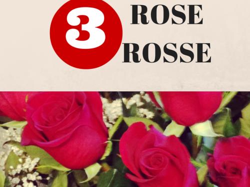 Il significato di 3 rose rosse, segreti e simboli legati a questo numero
