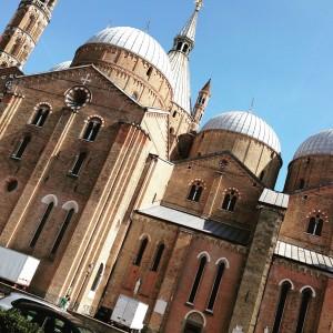 Particolare scorcio del Santo a Padova