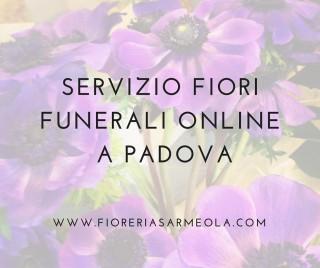 servizio fiori funerali online Padova