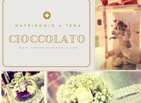 Matrimonio a tema cioccolato
