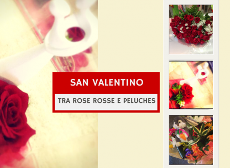 San Valentino tra rose rosse e peluches