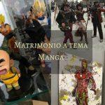 Matrimonio a tema Manga