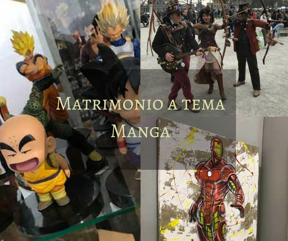 Matrimonio Tema Marvel : Matrimonio a tema manga idee creative per sposi