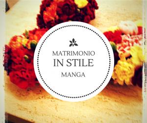 matrimonio in stile Manga
