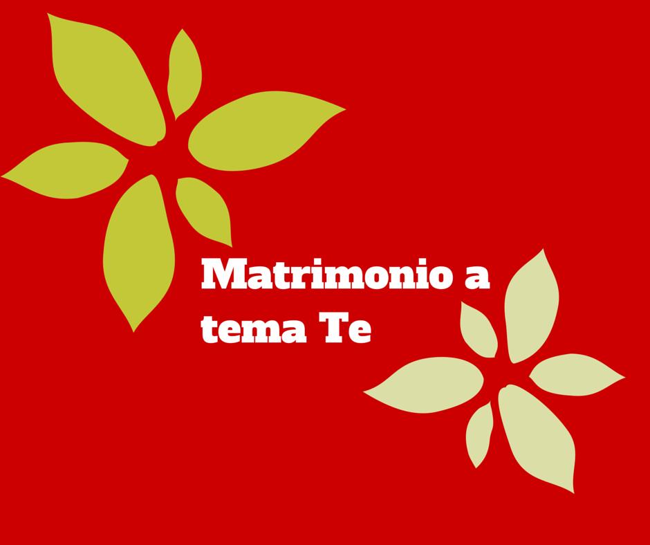 Matrimonio Tema Tè : Matrimonio tema tè