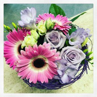Bouquet che io ho chiamato nido fiorito