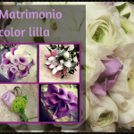 Matrimonio color lilla