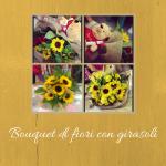 Bouquet di fiori con girasoli