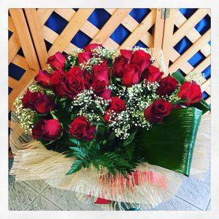 26 rose rosse per festeggiare 26 anni